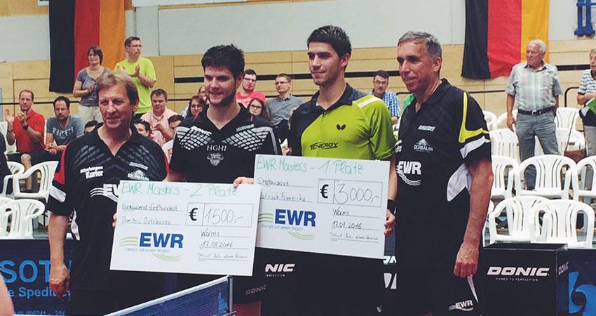 Sieg beim EWR Masters 2016 in Worms