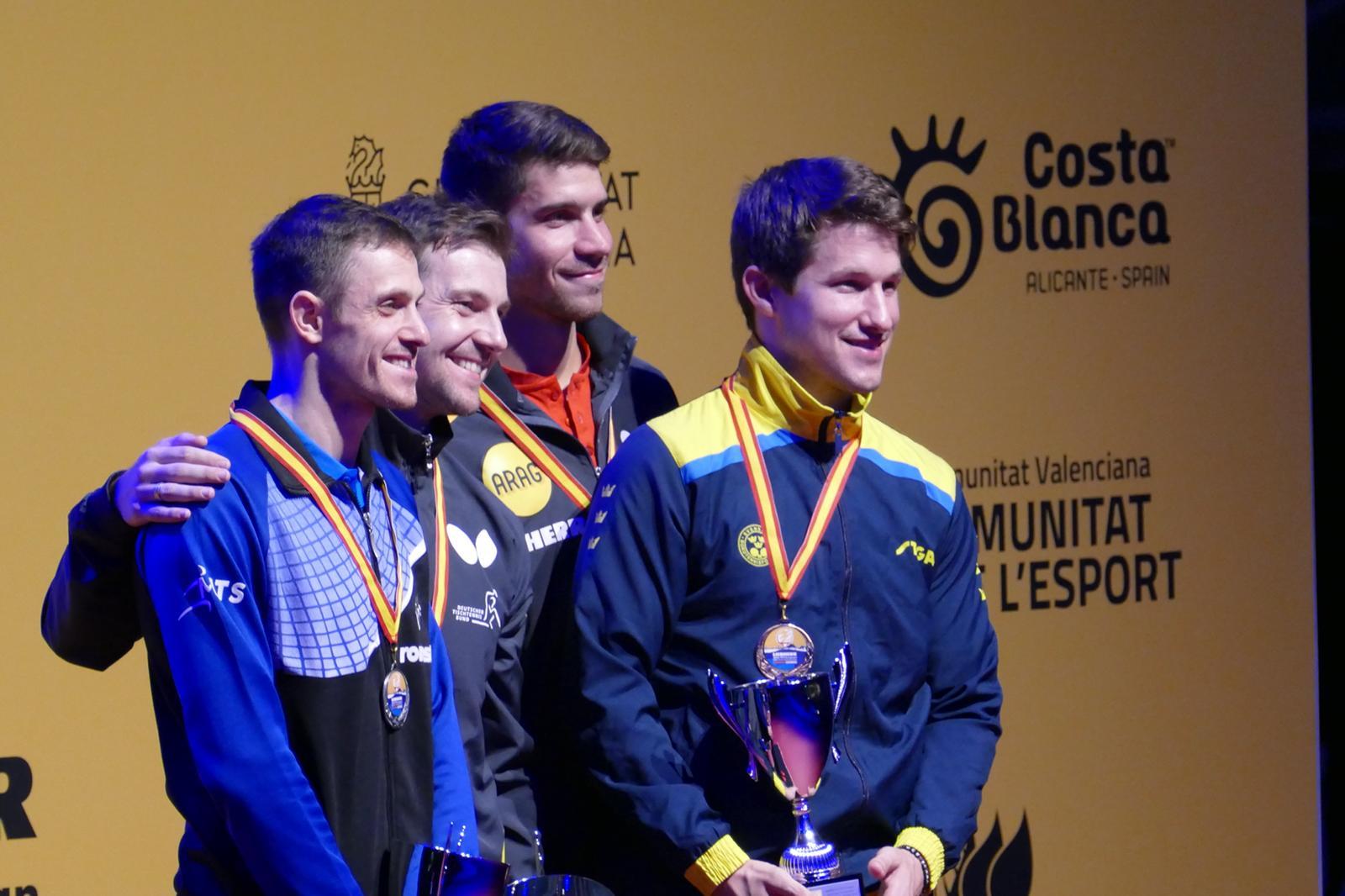 Bronze Herren Einzel EM 2018