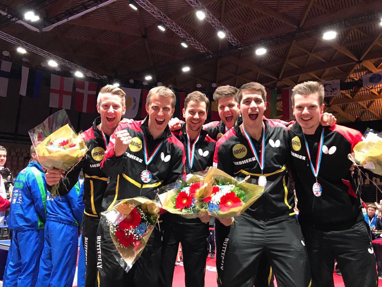 Team Europameister 2017 in Luxemburg