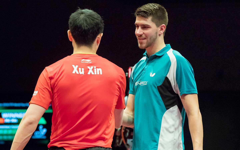Halbfinale German Open Bremen 2018 gegen Xu Xin (Foto: Marco Steinbrenner)