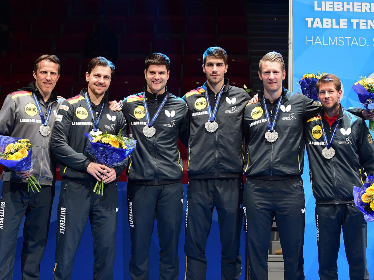 Silbermedaille Team WM 2018 in Halmstad/Schweden (Foto: Manfred Schillings)