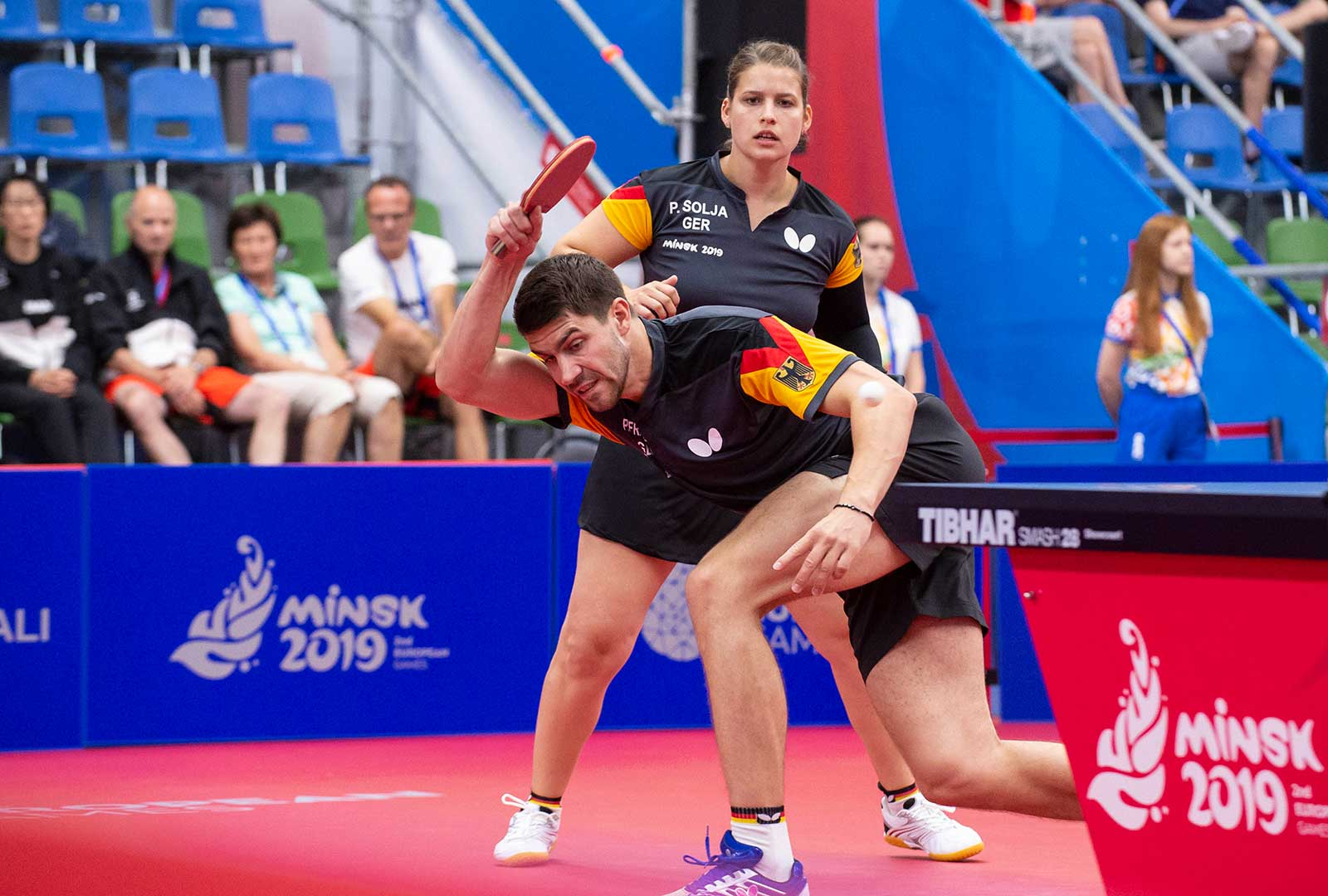 Mixed European Games 2019 in Minsk - Foto Manfred Schillings