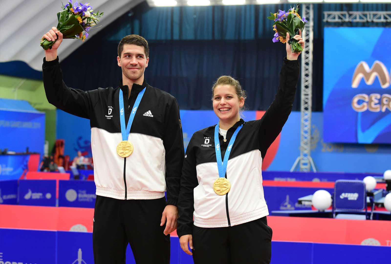 Goldmedaille Mixed European Games 2019 in Minsk - Foto Manfred Schillings