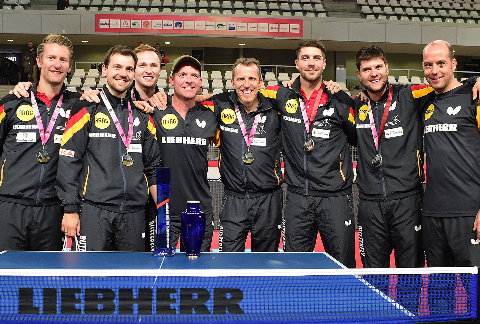 Goldmedaille Team Europameisterschaft in Nantes 2019 - Foto: Manfred Schillings