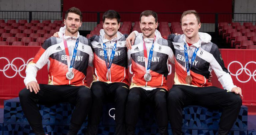 Silbermedaille-Herren-Mannschaft-Olympia-Tokyo-2020_2021 (Foto:Benedikt Probst)